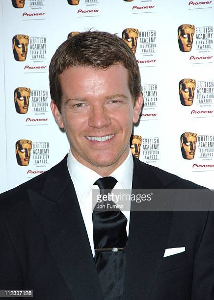 Max Beasley during The 2006 British Academy Television Awards Press Room at Grosvenor House in London Great Britain