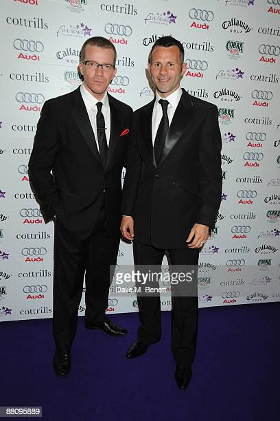 Max Beesley and Ryan Giggs attend the 5 Stars Scanner Appeal on June 1 2009 in Sutton Coldfield United kingdom