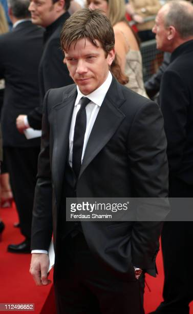 Max Beesley during The Pioneer British Academy Television Awards Outside Arrivals at Royal Theatre in London Great Britain