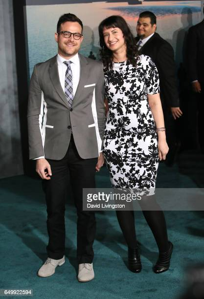 Max Bernstein and Sofiya Goldshteyn attend the premiere of Warner Bros Pictures' 'Kong Skull Island' at Dolby Theatre on March 8 2017 in Hollywood...