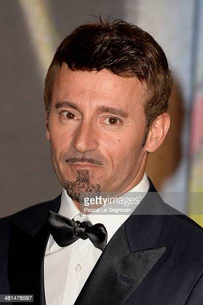 Max Biaggi attends the Rose Ball 2014 in aid of the Princess Grace Foundation at Sporting MonteCarlo on March 29 2014 in MonteCarlo Monaco
