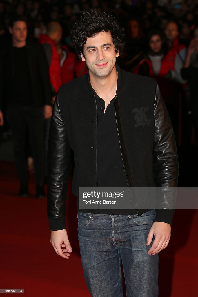 Max Boublil arrives at the 15th NRJ Music Awards at the Palais des Festivals on December 14, 2013 in Cannes, France.