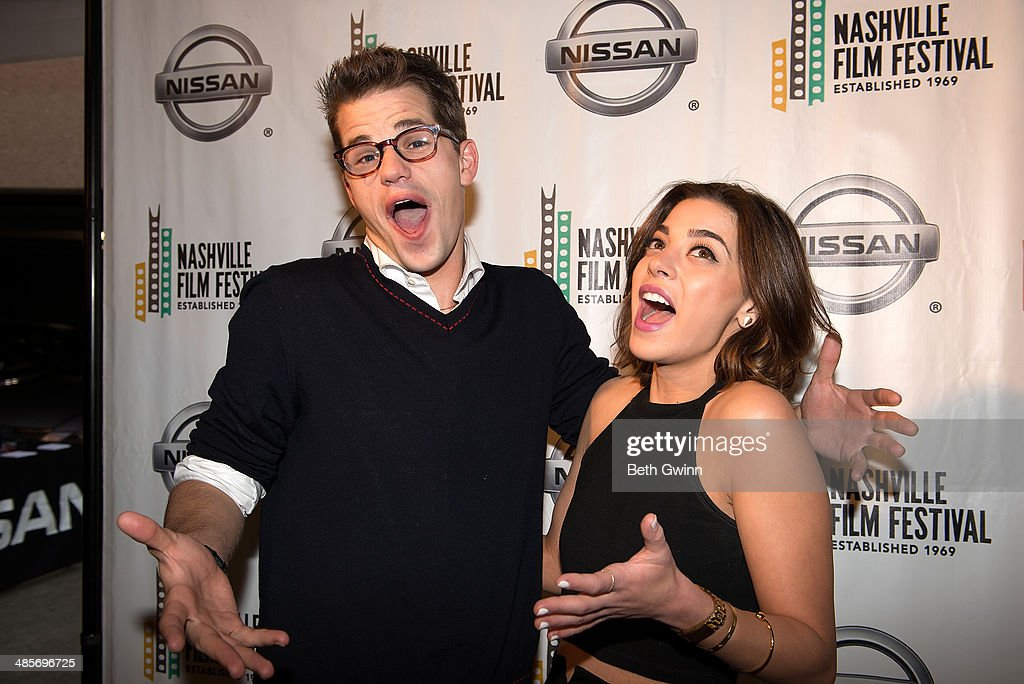 Max Carver and Gia Mantegna of the film 'Undiscovered Gyrl' attend day 3 of the 2014 Nashville Film Festival at Regal Green Hills on April 19, 2014 in Nashville, Tennessee.