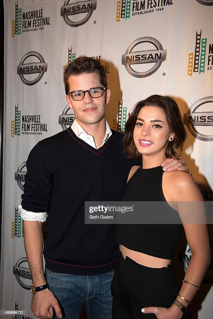 Max Carver and Gia Mantegna of the film 'Undiscovered Gyrl' attends day 3 of the 2014 Nashville Film Festival at Regal Green Hills on April 19, 2014 in Nashville, Tennessee.