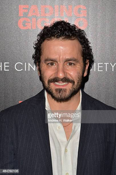Max Casella attends the Millennium Entertainment's 'Fading Gigolo' screening hosted by The Cinema Society and Women's Health at SVA Theater on April...