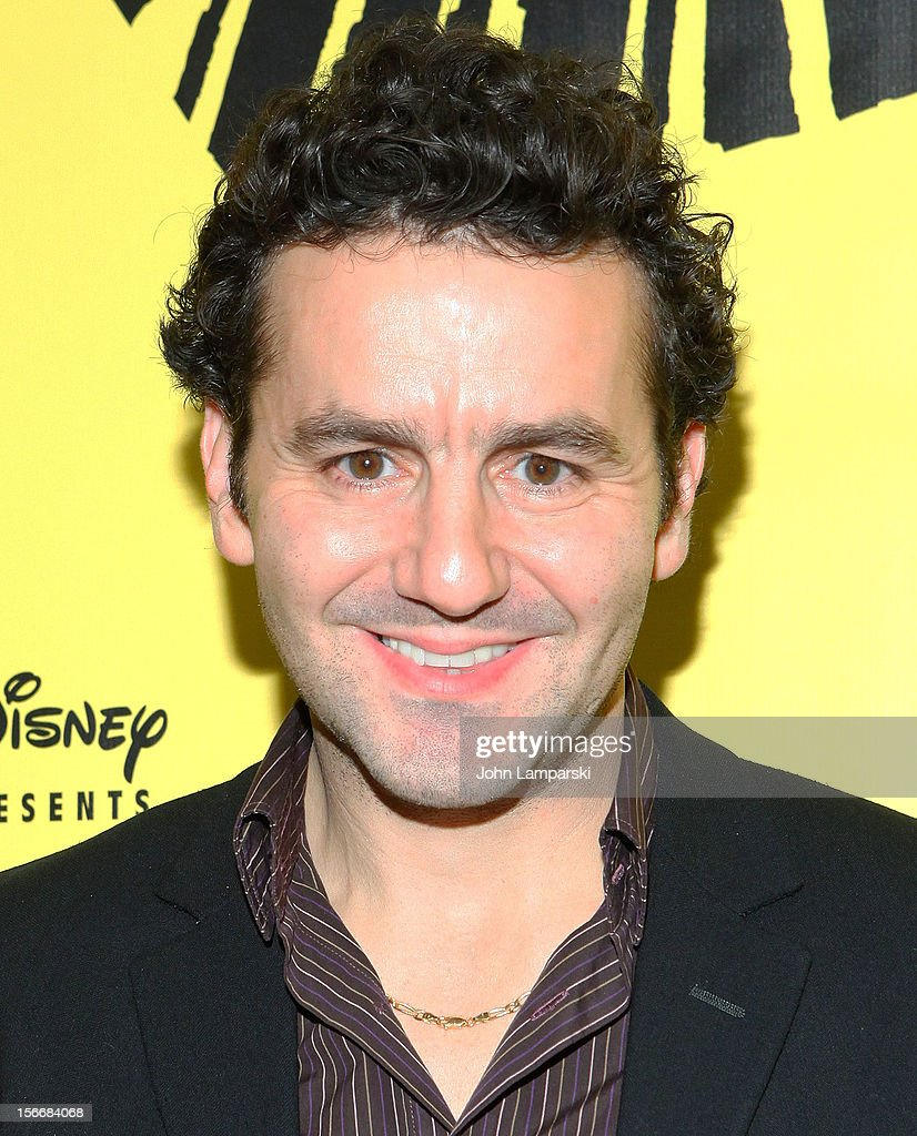 Max Casella attends the 'The Lion King' On Broadway 15th Anniversary Celebration at the Minskoff Theatre on November 18, 2012 in New York City.