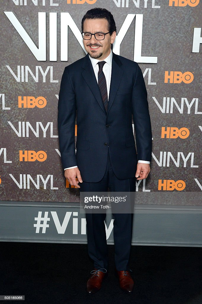 Max Casella attends the 'Vinyl' New York premiere at Ziegfeld Theatre on January 15, 2016 in New York City.