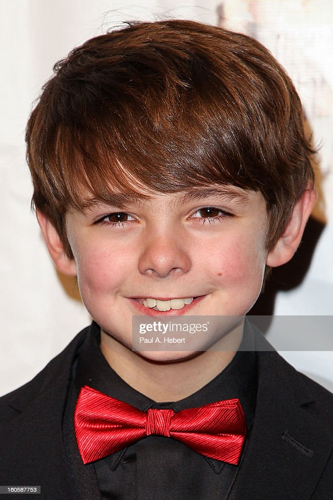 Max Charles arrives at the 40th Annual Annie Awards held at Royce Hall on the UCLA Campus on February 2, 2013 in Westwood, California.