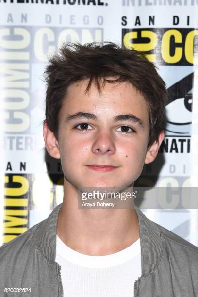 Max Charles attends the The Strain press conference at ComicCon International 2017 on July 20 2017 in San Diego California