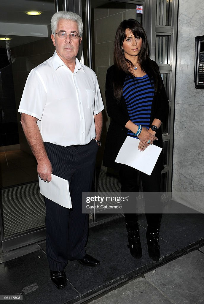 Max Clifford and Vanessa Perroncel attend a press conference regarding recent allegations of an affair with John Terry John Terry was dropped as...