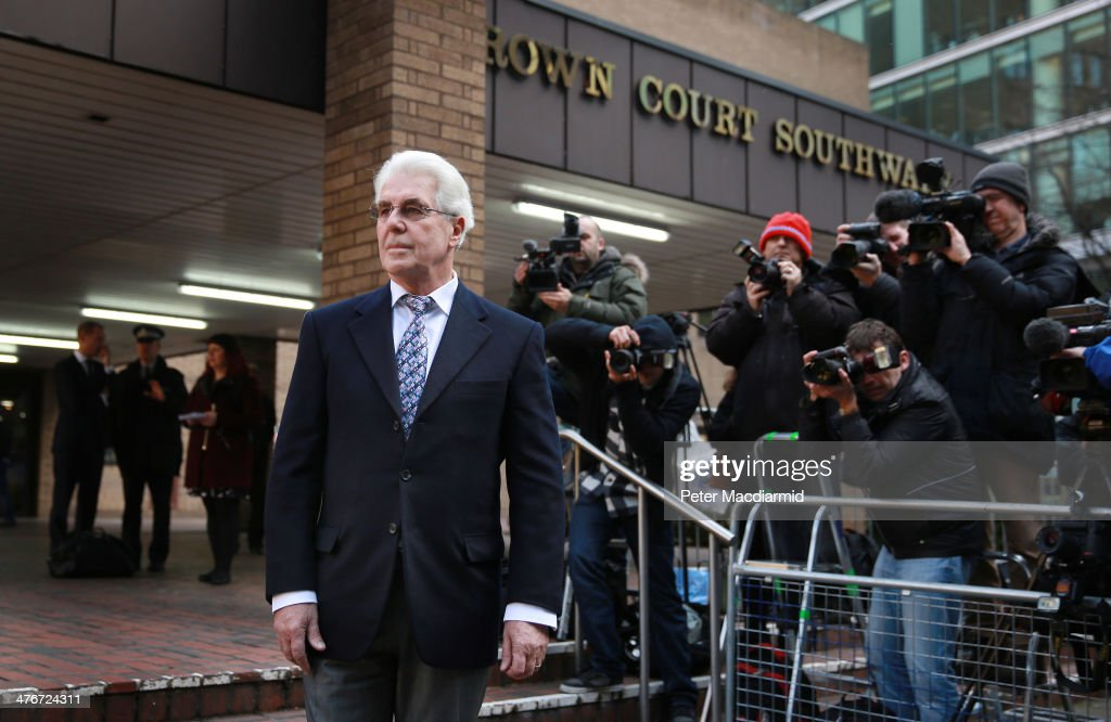 <a gi-track='captionPersonalityLinkClicked' href=/galleries/search?phrase=Max+Clifford&family=editorial&specificpeople=753579 ng-click='$event.stopPropagation()'>Max Clifford</a> arrives at Southwark Crown Court on March 5, 2014 in London, England. The public relations expert has pleaded not guilty to 11 charges of indecent assault.