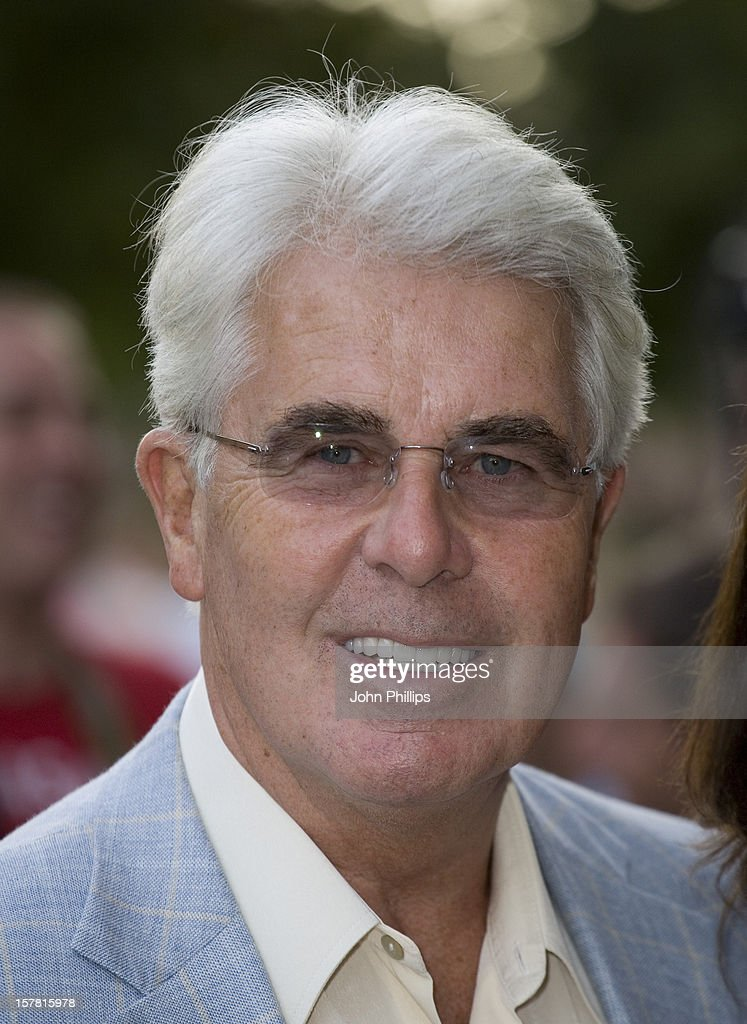 Max Clifford Arrives To 'An Audience With Donny And Marie Osmond' Tv Programme At The Itv Studios In London.