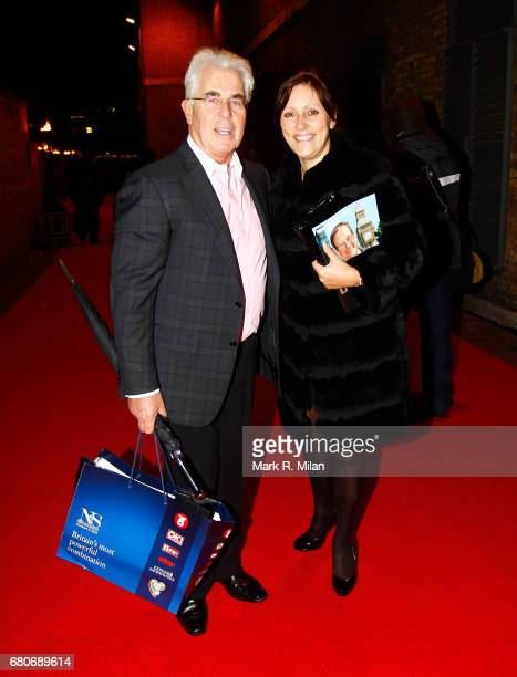 Max Clifford departs the 60th Birthday Celebration of Richard Desmond at Old Billingsgate Market on December 8 2011 in London England