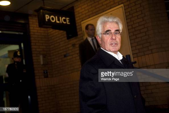 Max Clifford makes a statement to media after being arrested by Operation Yewtree officers on December 6 2012 in London England Clifford was arrested...