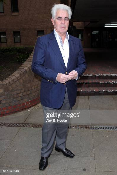 Max Clifford sighted arriving at Southwark Crown Court April 28 2014 in London England