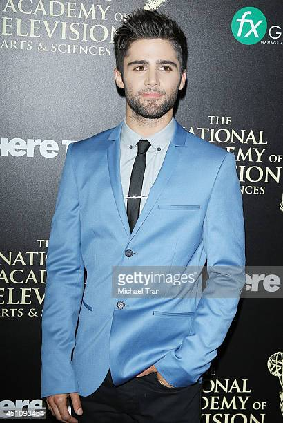 Max Ehrich arrives at the 41st Annual Daytime Emmy Awards held at The Beverly Hilton Hotel on June 22 2014 in Beverly Hills California