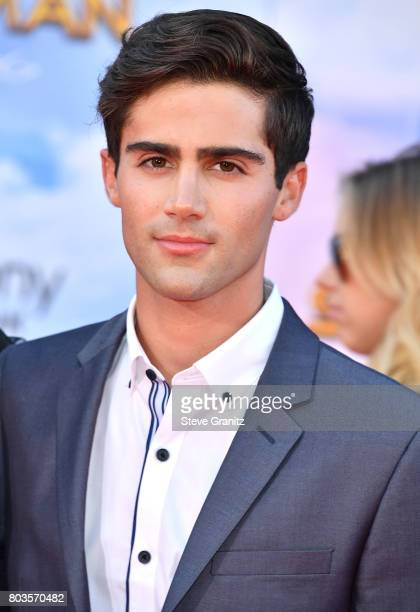 Max Ehrich arrives at the Premiere Of Columbia Pictures' 'SpiderMan Homecoming' at TCL Chinese Theatre on June 28 2017 in Hollywood California