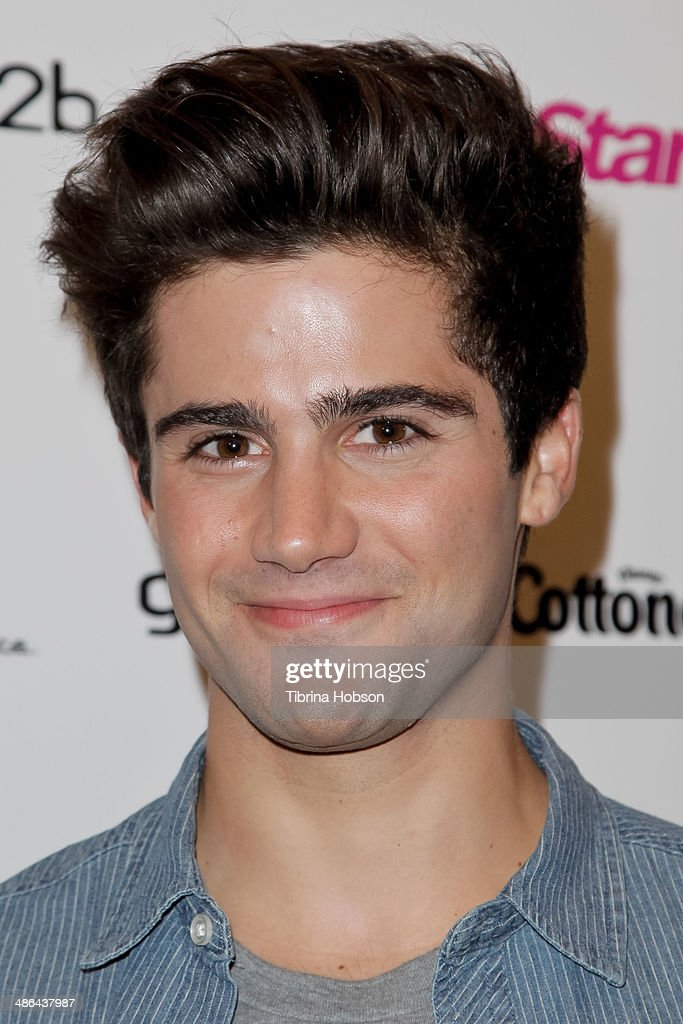 <a gi-track='captionPersonalityLinkClicked' href=/galleries/search?phrase=Max+Ehrich&family=editorial&specificpeople=5540241 ng-click='$event.stopPropagation()'>Max Ehrich</a> attends Star Magazine's 'Hollywood Rocks' party 2014 at SupperClub Los Angeles on April 23, 2014 in Los Angeles, California.
