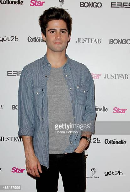 Max Ehrich attends Star Magazine's 'Hollywood Rocks' party 2014 at SupperClub Los Angeles on April 23 2014 in Los Angeles California
