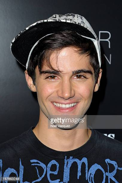Max Ehrich attends the Voli Lights Vodka benefit at SkyBar at the Mondrian Los Angeles on December 6 2012 in West Hollywood California