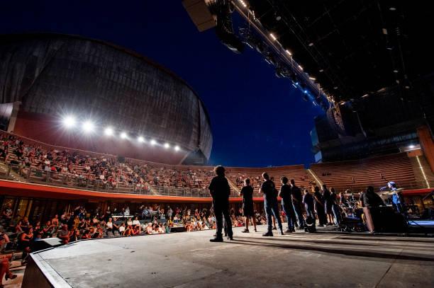 ITA: Max Gazzé Performs In Rome