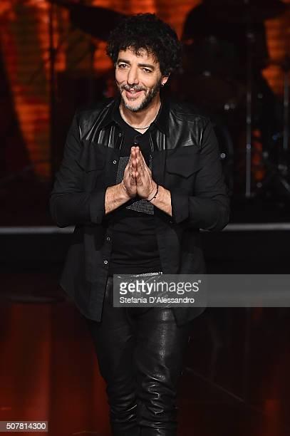 Max Gazze attends 'Che Tempo Che Fa' Tv Show on January 31 2016 in Milan Italy