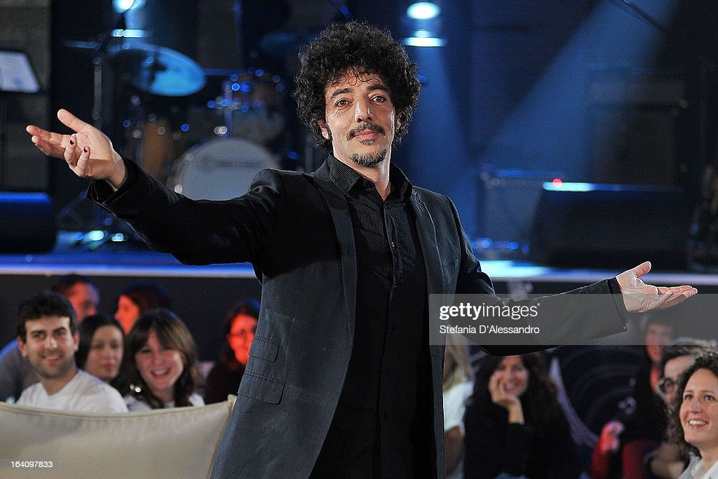 Max Gazze Performs At RadioItaliaLive