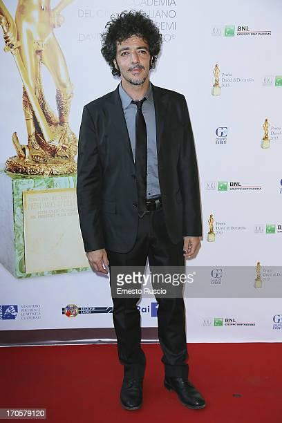 Max Gazze attends the David di Donatello Ceremony Awards at Dear on June 14 2013 in Rome Italy