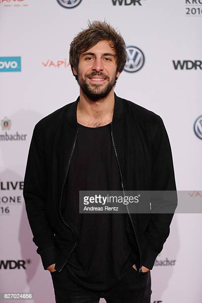 Max Giesinger attends the 1Live Krone at Jahrhunderthalle on December 1 2016 in Bochum Germany