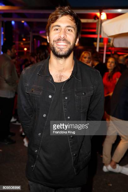 Max Giesinger attends the Guido Maria Kretschmer Fashion Show Autumn/Winter 2017 presented by OTTO at Tempodrom on July 5 2017 in Berlin Germany