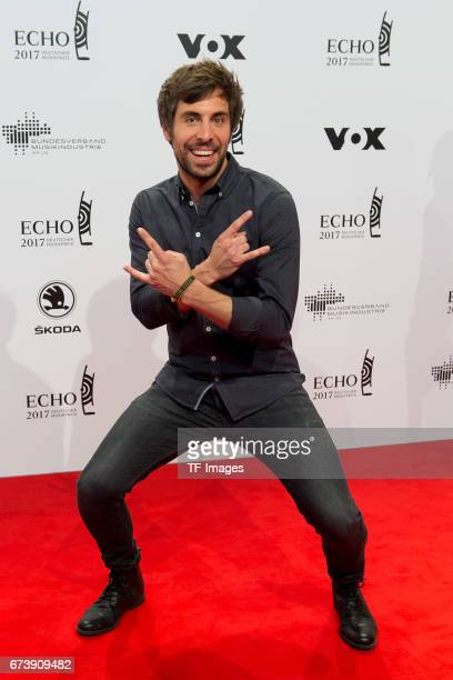 Max Giesinger on the red carpet during the ECHO German Music Award in Berlin Germany on April 06 2017