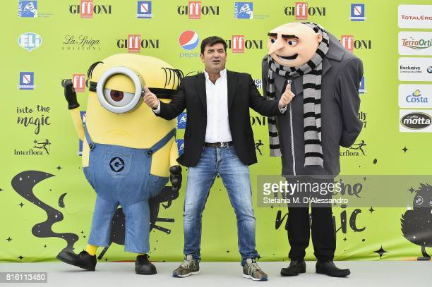 Max Giusti attends Giffoni Film Festival 2017 Day 4 Photocall on July 17 2017 in Giffoni Valle Piana Italy