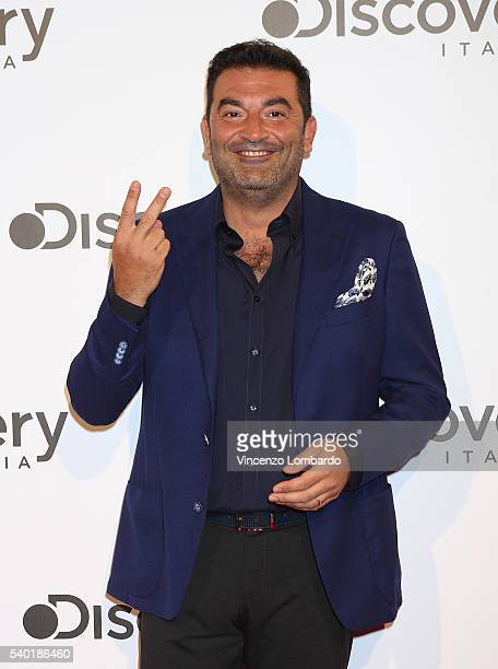 Max Giusti attends the Discovery Networks Upfront on June 14 2016 in Milan Italy