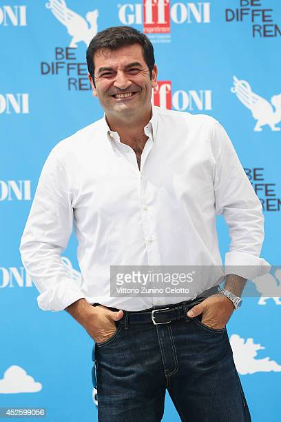 Max Giusti attends the Giffoni Film Festival photocall on July 24 2014 in Giffoni Valle Piana Italy