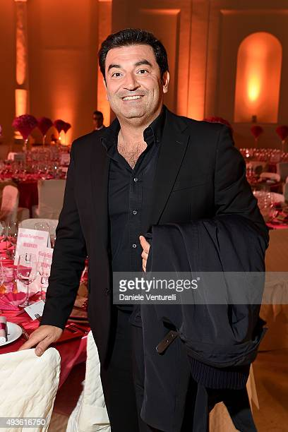 Max Giusti attends the Telethon Gala during the 10th Rome Film Fest on October 21 2015 in Rome Italy
