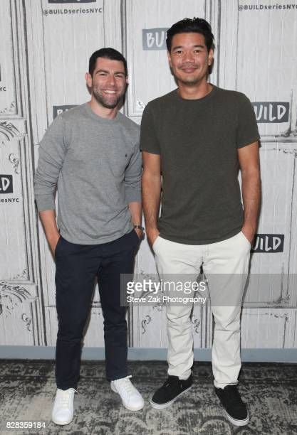 Max Greenfield and Destin Daniel Cretton attend Build Series to discuss their new film 'The Glass Castle' at Build Studio on August 9 2017 in New...