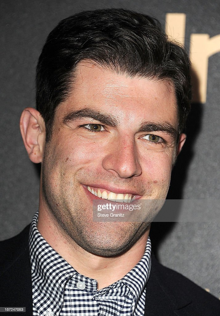 <a gi-track='captionPersonalityLinkClicked' href=/galleries/search?phrase=Max+Greenfield&family=editorial&specificpeople=599135 ng-click='$event.stopPropagation()'>Max Greenfield</a> arrives at the The Hollywood Foreign Press Association And InStyle Miss Golden Globe 2013 Party on November 29, 2012 in Los Angeles, California.