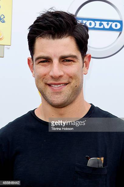 Max Greenfield attends the 5th annual 'LA Loves Alex's Lemonade' annual fundraiser at Wilson Plaza UCLA on September 20 2014 in Westwood California
