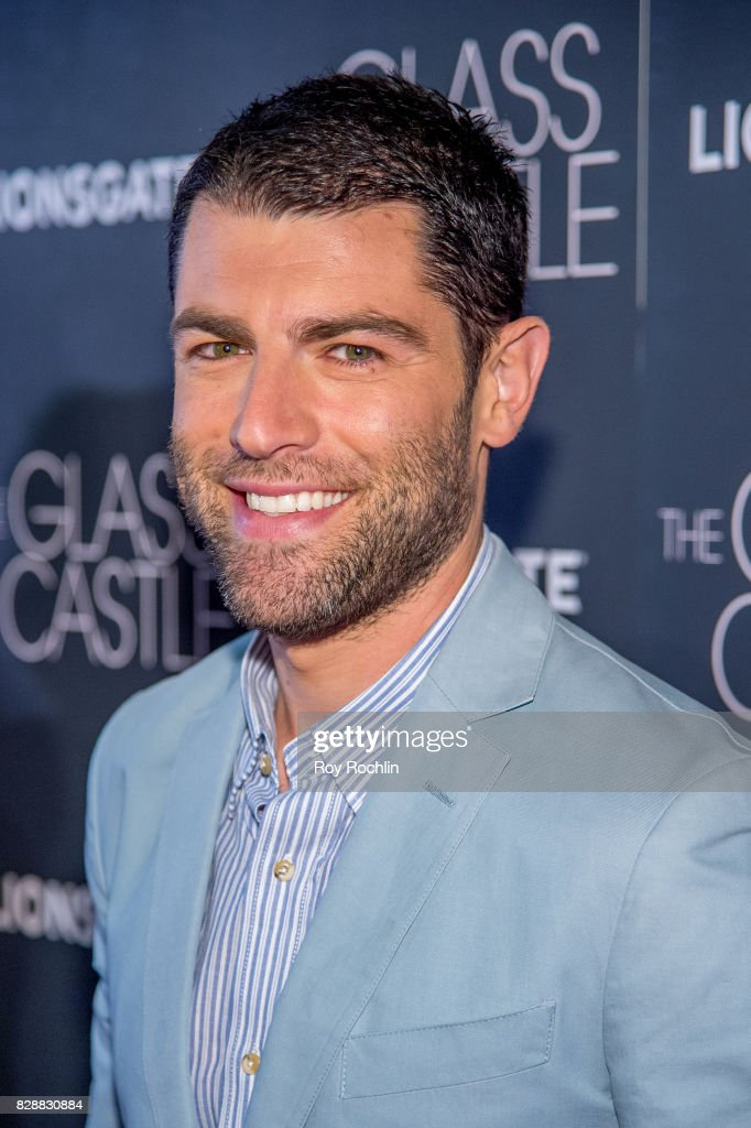 Max Greenfield attends 'The Glass Castle' New York screening at SVA Theatre on August 9, 2017 in New York City.