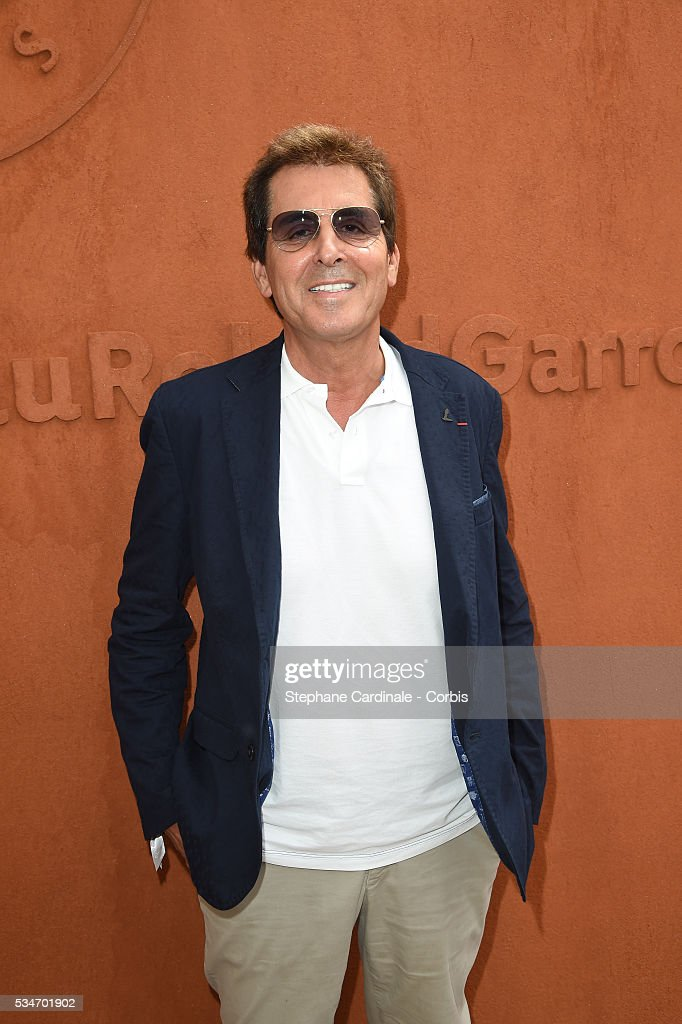 Max Guazzini attends day six of the 2016 French Open at Roland Garros on May 27, 2016 in Paris, France.