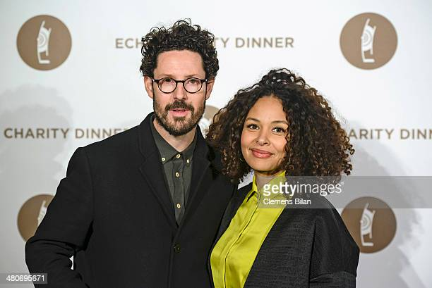 Max Herre and Joy Denalane attend the Echo Award 2014 Charity Dinner on March 26 2014 in Berlin Germany