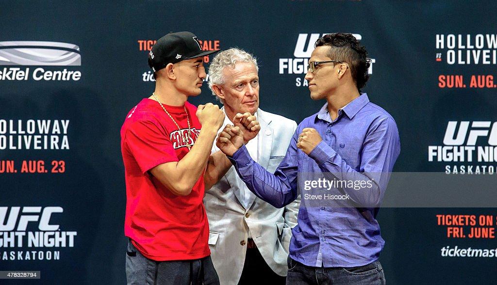UFC Fight Night Saskatoon - Press Conference