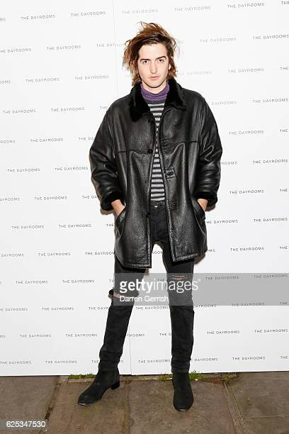Max Hurd attends The Dayrooms Launch Party on November 23 2016 in London England