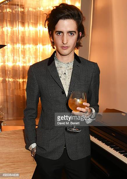 Max Hurd attends the launch of La Maison Remy Martin the cognac brand's new members club on November 2 2015 in London England