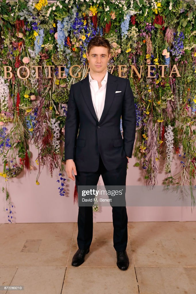 Max Irons attends Bottega Veneta's 'The Hand of the Artisan Cocktail Dinner' at Chiswick House And Gardens on November 9, 2017 in London, England.