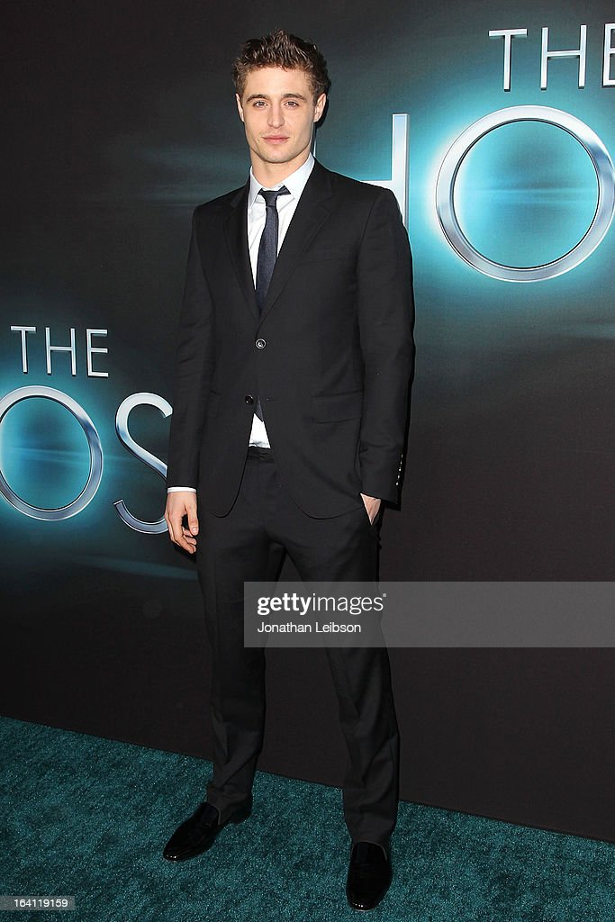 Max Irons attends the 'The Host' - Los Angeles Premiere at ArcLight Cinemas Cinerama Dome on March 19, 2013 in Hollywood, California.