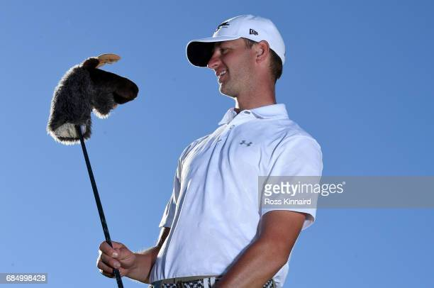 Max Kramer of Germany poses for a portrait during the first round of Andalucia Costa del Sol Match Play at La Cala Resort on May 18 2017 in La Roda...