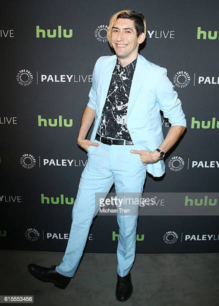 Max Landis arrives at the Los Angeles screening of 'Dirk Gently's Holistic Detective Agency' held at The Paley Center for Media on October 18 2016 in...