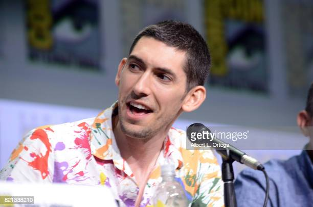 Max Landis at Dirk Gently's Holistic Detective Agency BBC America Official Panel during ComicCon International 2017 at San Diego Convention Center on...