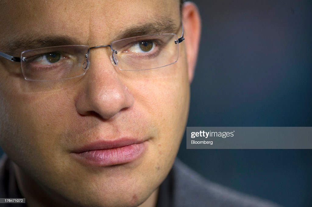Max Levchin, chairman of Kaggle Inc., pauses during a Bloomberg West Television interview in San Francisco, California, U.S. on Tuesday, Aug. 13, 2013. Kaggle Inc. offers a platform for predictive modeling competitions where companies, governments, and researchers can present datasets and problems, as well as compete to produce the best solutions. Photographer: David Paul Morris